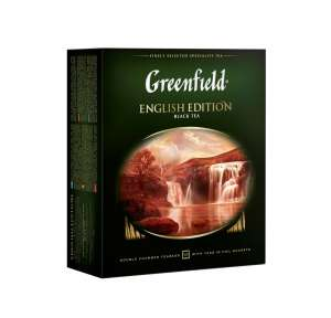 "Greenfield ""English Edition"" черный 100 пак"