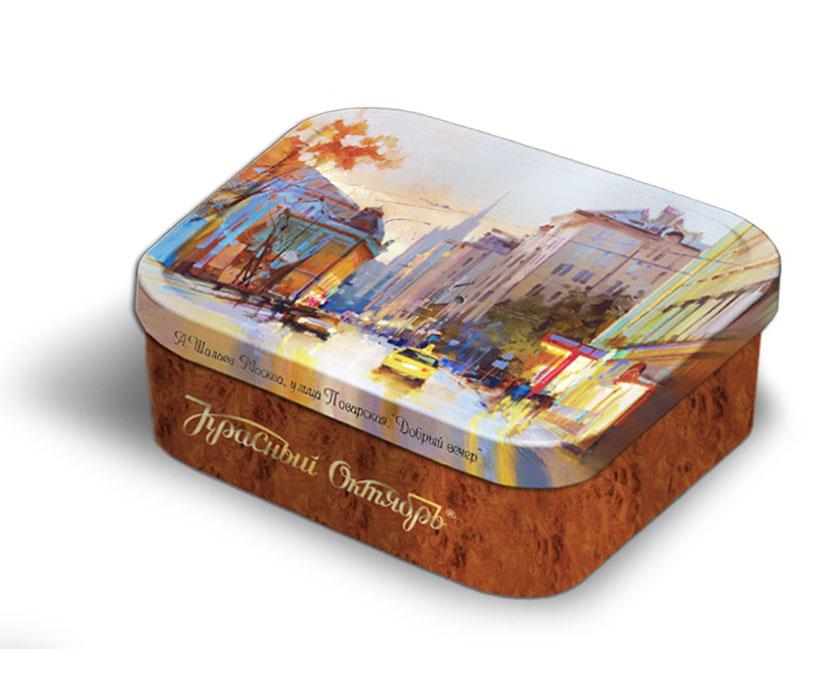 Набор открыток в жестяных коробках